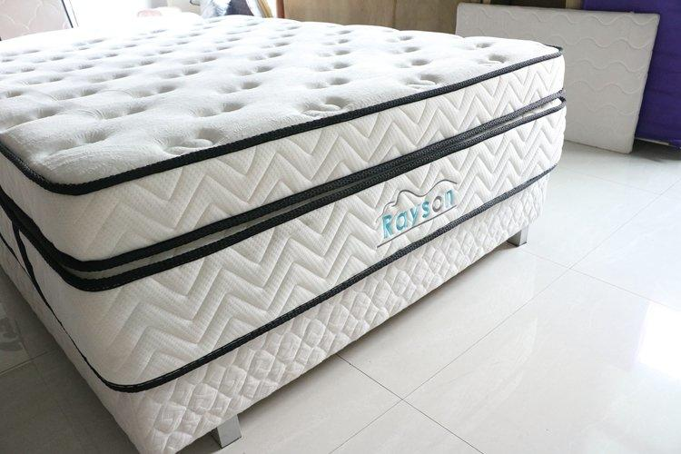 Double layers pocket spring mattress high quality for sale