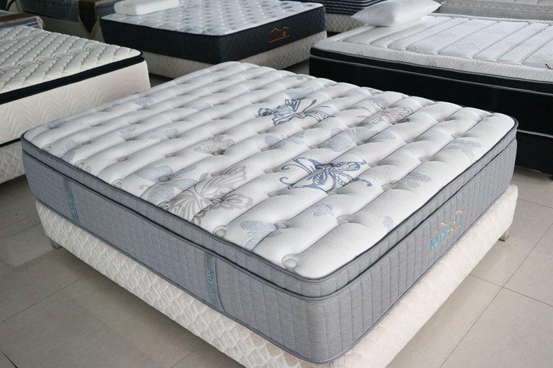 Five star hotel pocket spring mattress king latex