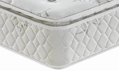 Back care pocket spring mattress