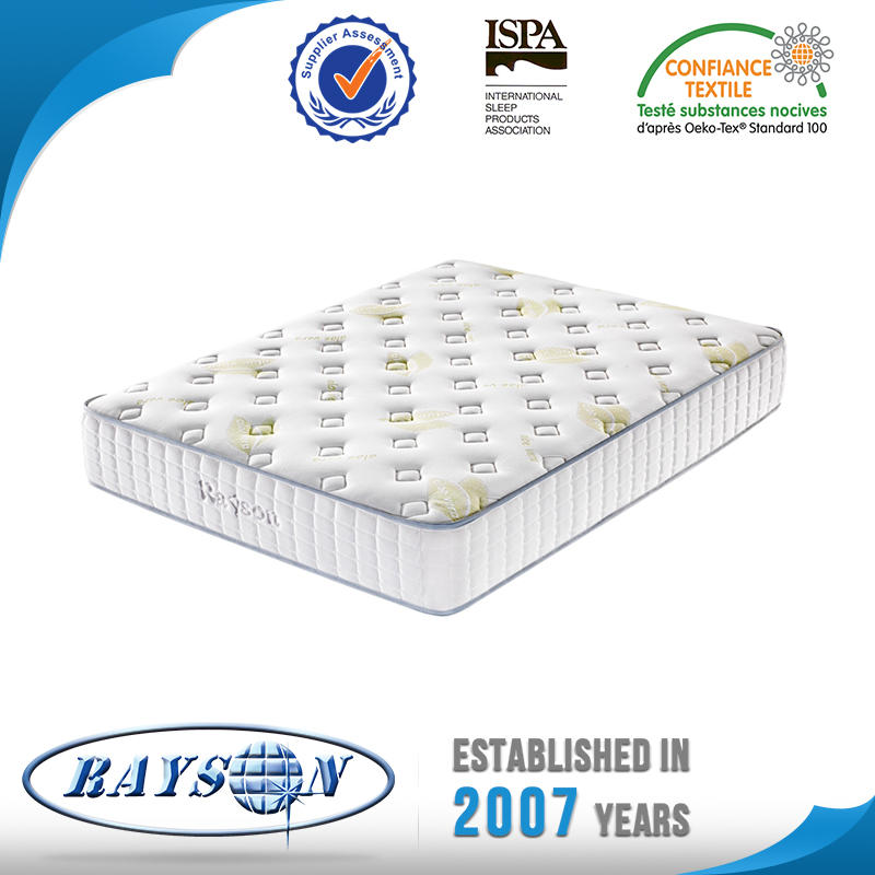 Tight Top Dual Sided Aloe Fabric Pocket Spring Mattress