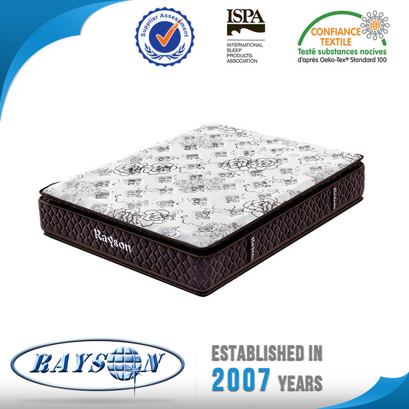 Medium Firm Double Pillow Top Pocket Spring Mattress