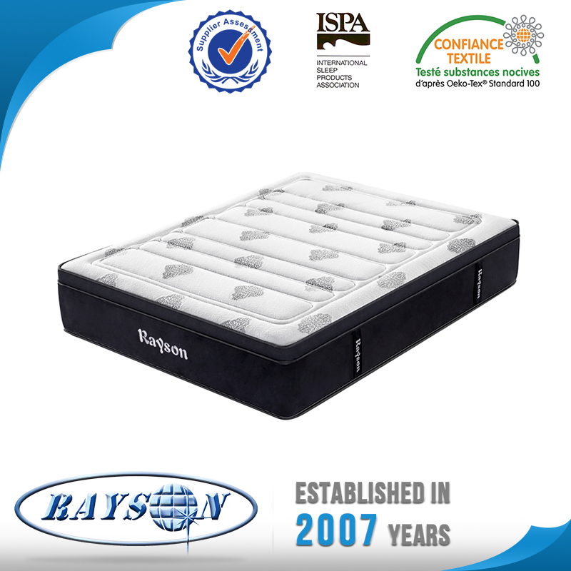 Hard kim encased Pillow Top Pocket Spring Mattress