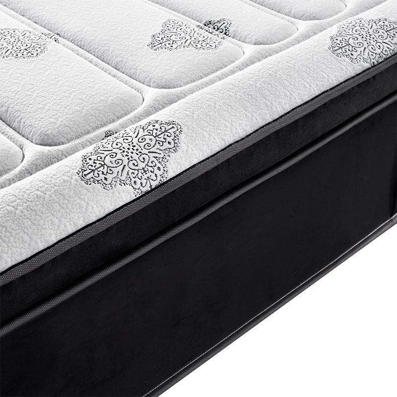 Gel Memory Foam& Hard Foam Encased Mattress