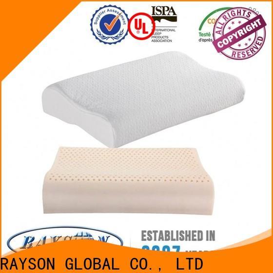 Rayson Mattress customized charter club latex pillow Suppliers
