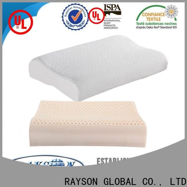 Latest silent night latex pillow customized Supply