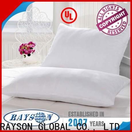 Rayson Mattress Top foam pillow vs feather pillow Suppliers