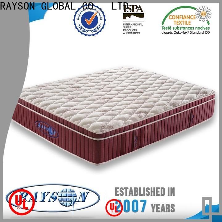 Rayson Mattress Custom 5 star hotel pillow brand Suppliers