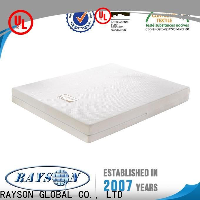 Rayson Mattress rolled bodipedic memory foam mattress Suppliers