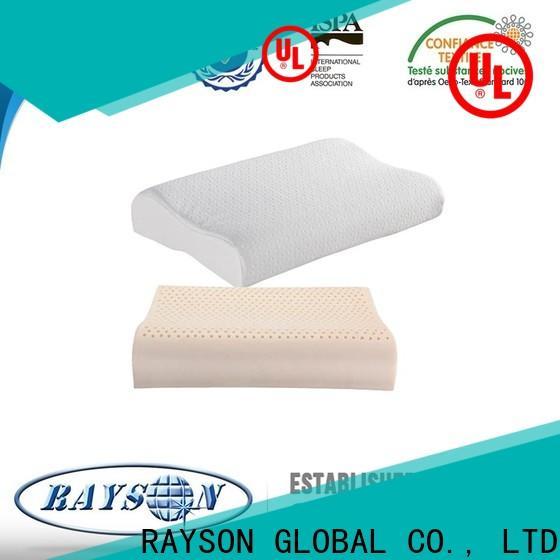 Rayson Mattress high quality standard foam pillow Supply