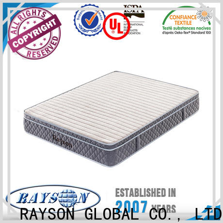 Rayson Mattress Wholesale firm pocket sprung king size mattress Suppliers