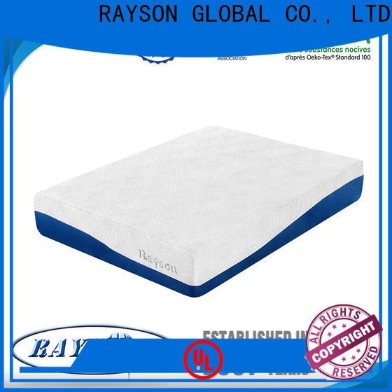 Rayson Mattress gel pocket coil memory foam mattress manufacturers