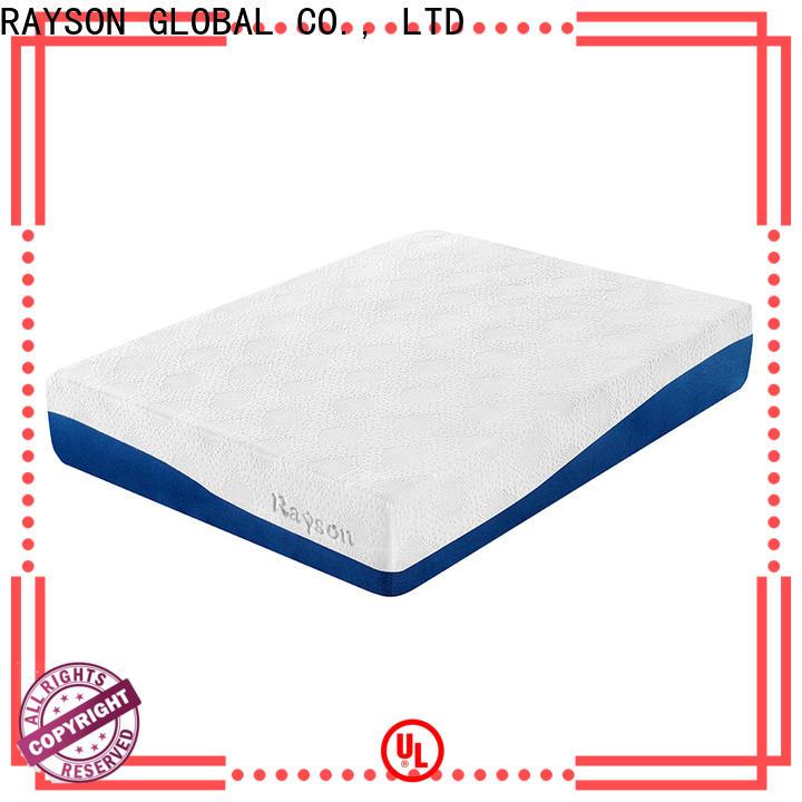 Rayson Mattress high quality queen bed foam mattress manufacturers