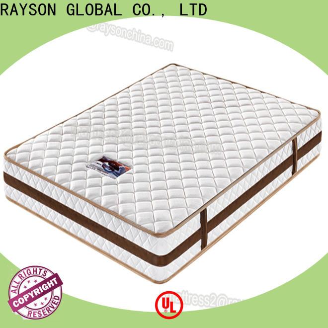 Rayson Mattress queen spring and foam mattress Suppliers
