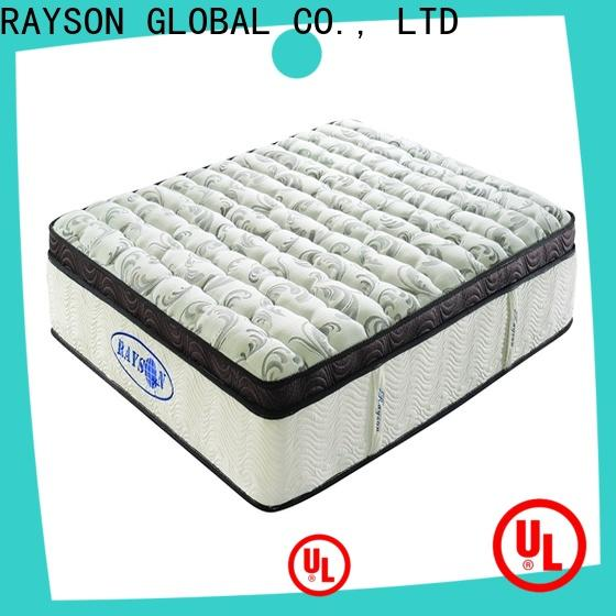 Rayson Mattress Top firm mattress without springs Supply