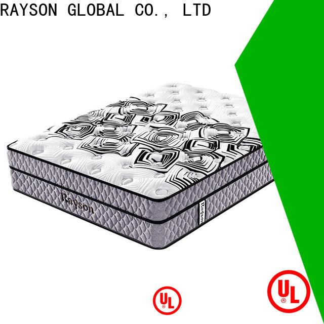 Custom orthopedic pocket spring mattress size Supply