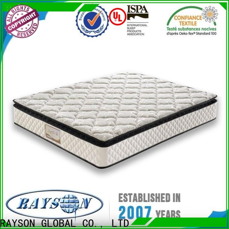 Rayson Mattress Top single bed spring mattress price Supply