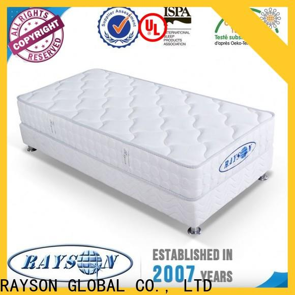 Rayson Mattress size individual pocket spring mattress Suppliers