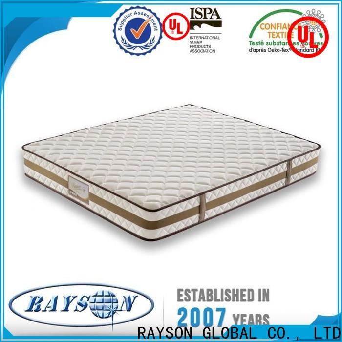 Rayson Mattress customized hilton hotel mattress Suppliers