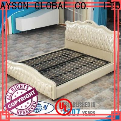 Rayson Mattress Wholesale wooden bed base without headboard Supply