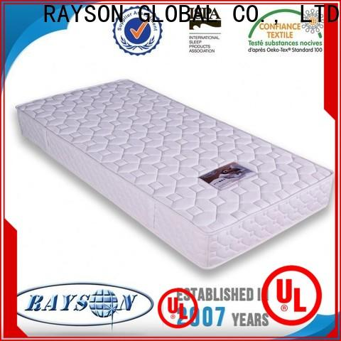 Rayson Mattress pillow spring coil bed manufacturers