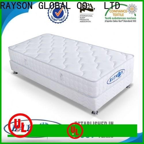 Rayson Mattress Top high coil count mattress manufacturers