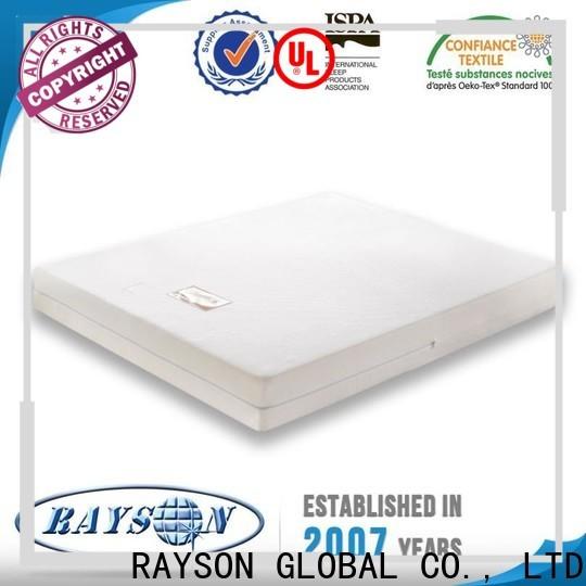 Rayson Mattress foam single memory foam mattress manufacturers