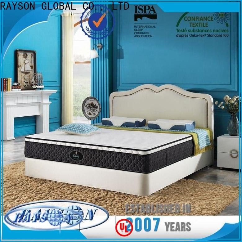 Rayson Mattress memory memory foam sprung mattress manufacturers