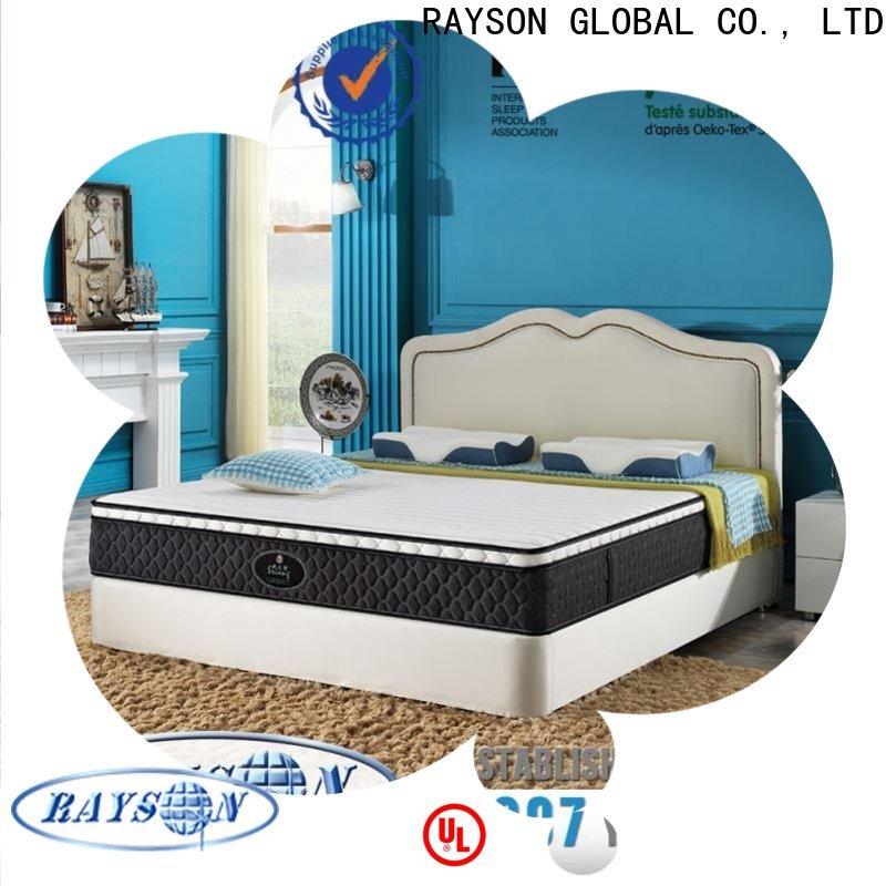 Rayson Mattress memory firm single bed mattress Supply