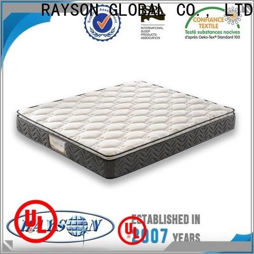 Rayson Mattress customized Rolled bonnell spring mattress Suppliers