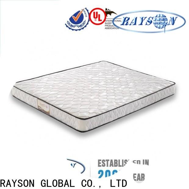 Rayson Mattress Top Rolled bonnell spring mattress manufacturers