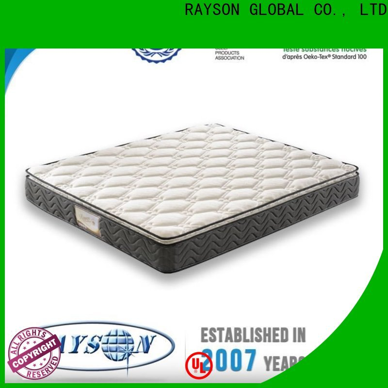 Custom Rolled bonnell spring mattress high grade Supply