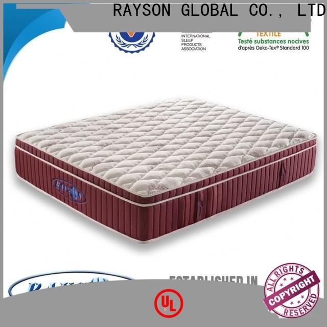 Rayson Mattress Wholesale high end hotel mattress Supply