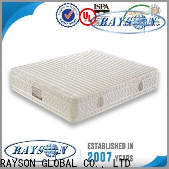 Rayson Mattress Custom luxury hotel bed manufacturers