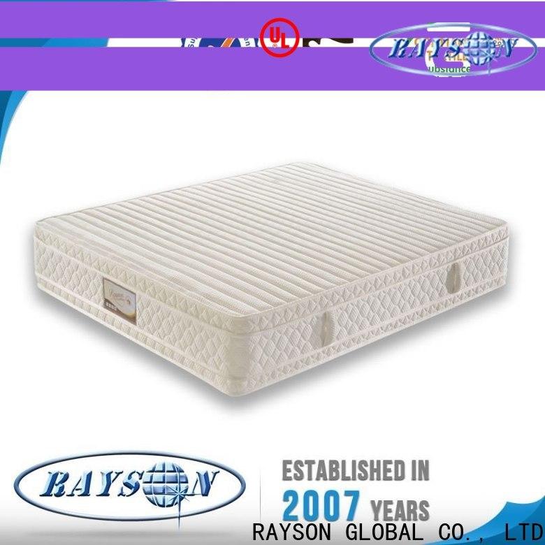 Rayson Mattress customized what mattresses do hotels use Supply