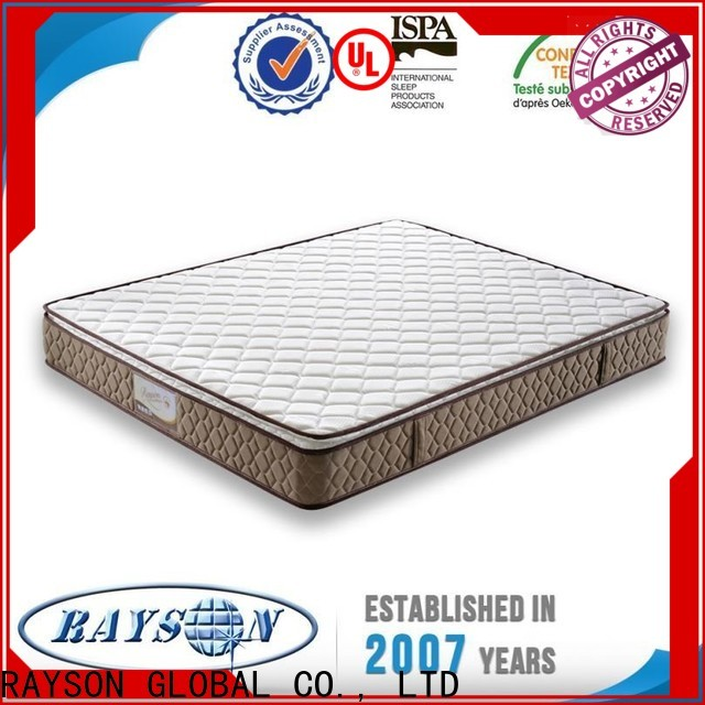 Rayson Mattress customized hotel collection bedding Supply