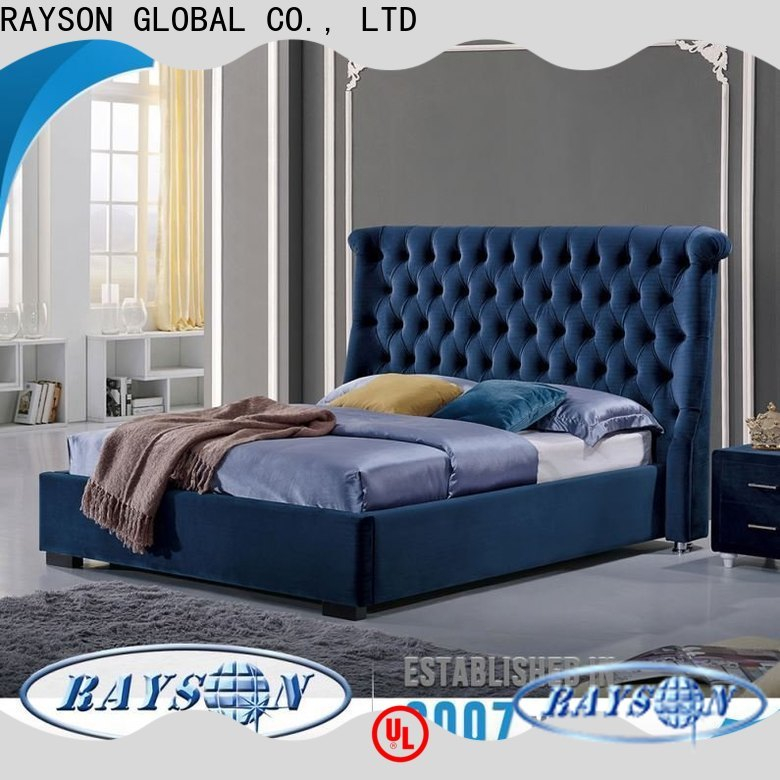 Rayson Mattress customized queen size bed stand Suppliers