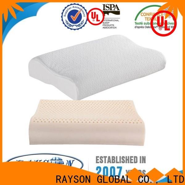 Rayson Mattress customized contour pillow Suppliers