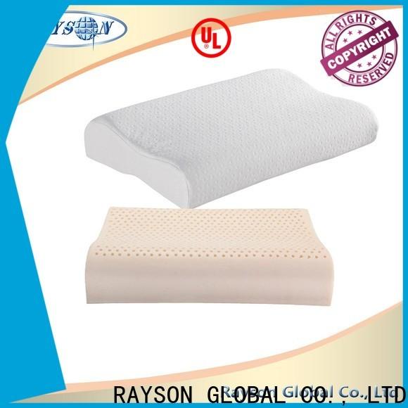 Rayson Mattress customized firm latex foam pillow Supply
