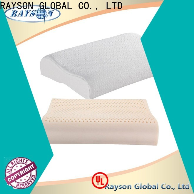 Rayson Mattress customized latex foam body pillow Suppliers
