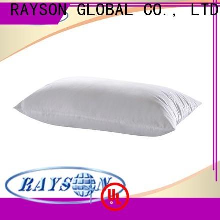 Rayson Mattress Latest polyester microfiber pillow Supply