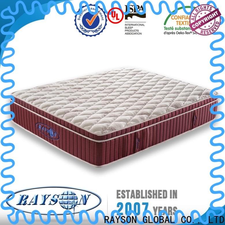 Rayson Mattress euro bed spring and mattress Supply