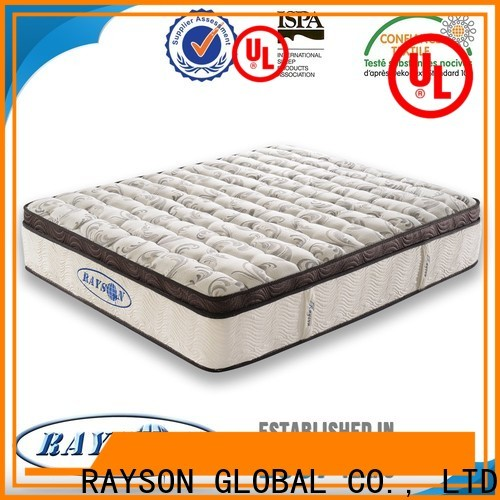 Custom single bed spring mattress price silent manufacturers