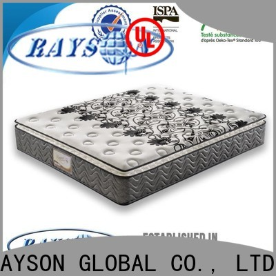 Rayson Mattress euro is spring mattress good for back pain Suppliers