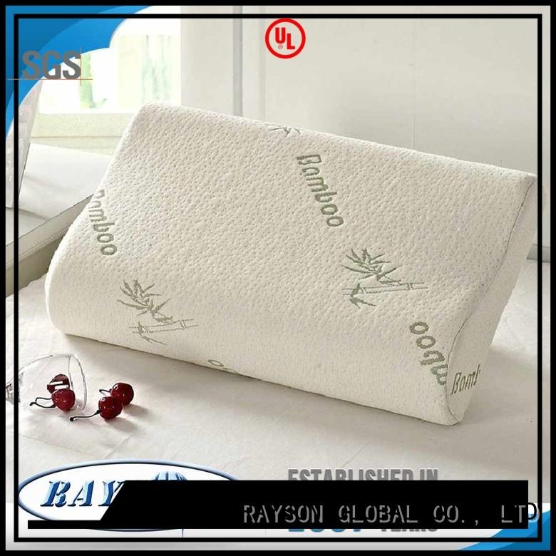 Rayson Mattress high grade gel top memory foam pillow manufacturers