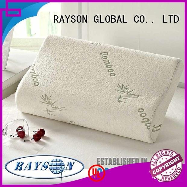 Rayson Mattress customized tempur memory foam pillow Suppliers