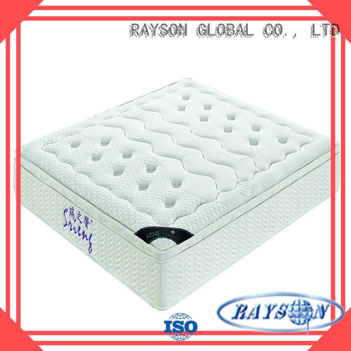 Rayson Mattress Top spring and foam mattress Supply