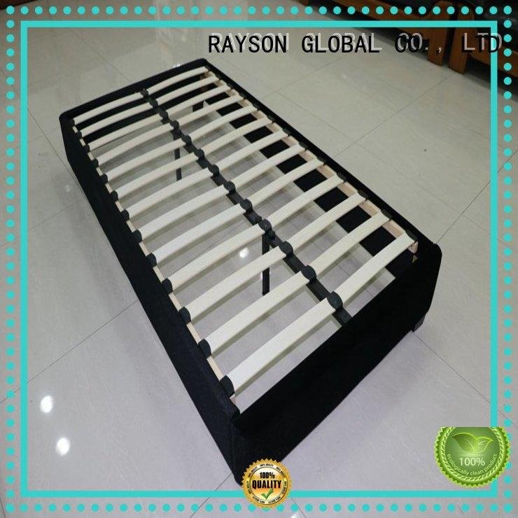 Rayson Mattress high grade leather bed frame manufacturers