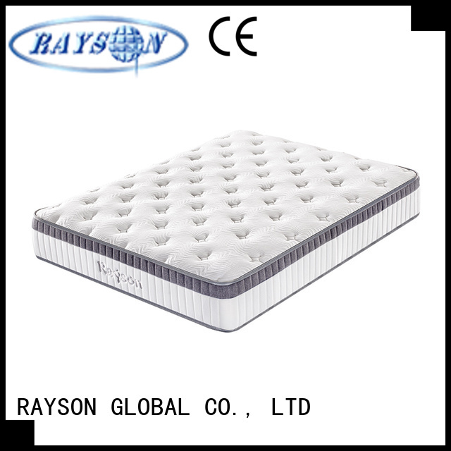 Rayson Mattress pocket is spring mattress good for back Supply