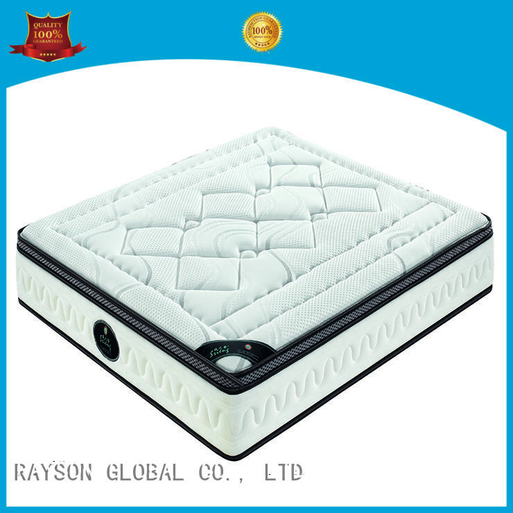customized pocket sprung and foam mattress wholesale for villa