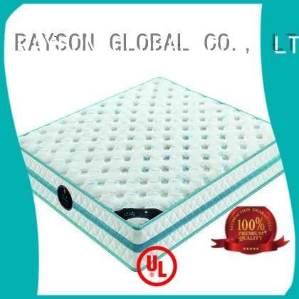 Latest open spring memory foam mattress plush Suppliers